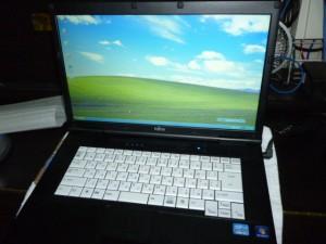 WindowsXPパソコン