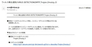 ウイルスメール