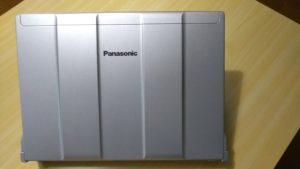 Panasonic CF-N9をWindows10にアップグレード
