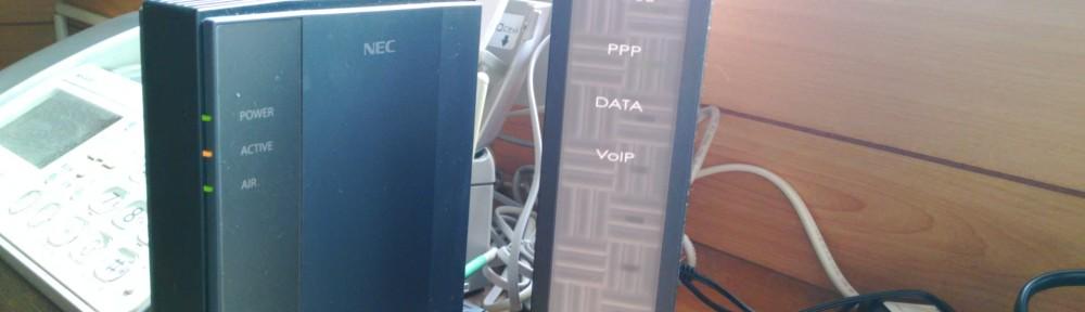 ADSLモデム