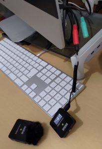iMacとWireless Go Ⅱ